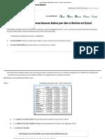Buscar Datos Por Dos Criterios en Excel – Trucos y Cursos de Excel