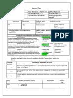 lesson plan 2017 8r 13 - skills revision 3