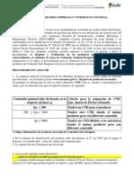 procedimiento administrativo para inscripcion de  productos premedidos Des Igual