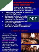Diplomaţia, CA Profesie (II)