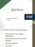 Presentación de Quechua 1-2-3