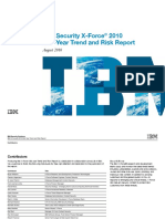 IBM X-Force Vulnerability Threats 1H2010