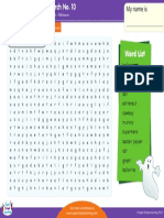 Halloween Word Search 10