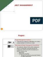 Project Management 2017