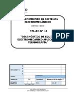 Diagnóstico de Equipo Electromecánico Aplicando Termografía (FLUKE)