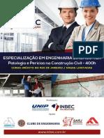 Programa Especialização Em Engenharia Diagnóstica - Inbec Rj