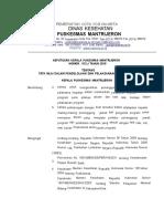Sk Tata Nilai Dalam Pengolahan Dan Pelaksanaan Kegiatan