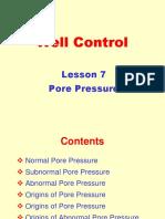 7[1]. Pore Pressure