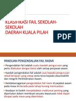 Klasifikasi Fail Urusan Sekolah