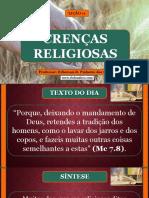 Lição 11 - Crenças Religiosas