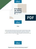 8 Kroków Do Optymalnej Inwestycji