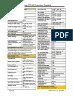 b777 200 Checklist | Takeoff | Flap (Aeronautics)