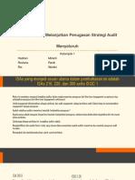 KELOMPOK 1 - Menerima Dan Melanjutkan Penugasan Strategi Audit Menyeluruh