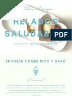 Recetario Helados Saludables Natalia Moragues