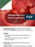 MEMBRANAS FETAIS