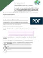 Guía de Trabajo Ecosistemas