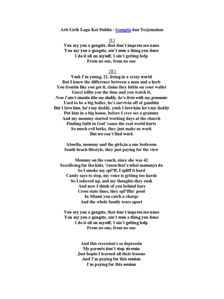 Arti lirik lagu so i said i love you one more time