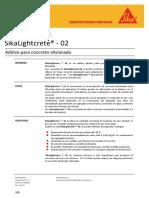 SikaLightcrete ®- 02 rev.1 18-09-14