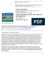 Urban Geography Volume 28 Issue 2 2007 [Doi 10.2747%2F0272-3638.28.2.198] Blomley, Nicholas -- Legal Geographies— Kelo , Contradiction, And Capitalism