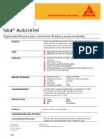Sika® AutoLevel.docx Rev. 2 01-04-15