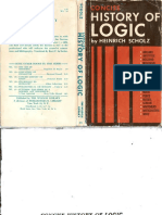Heinrich Scholz - Concise History of Logic ()