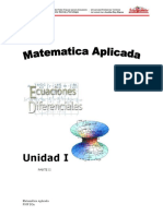 Unidad I. Parte II.matematica Aplicada.
