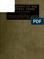 Geography of the Central Andes 1922