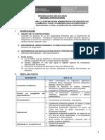 14. CAS 203 2017 DS 2da Conv Especialista Ambiental Para La Subdirección de Supervisión a Entidades Profesional II