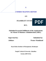 Feasibility Study of Hcl (1)