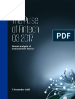 KPMG Pulse of Fintech q3 17