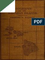 Geography of the Hawaiian Islands 1908