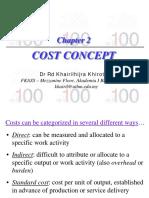 CH2 Cost Concept