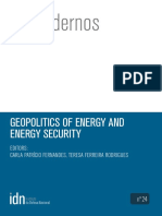 Geopolitics of Energy and Energy Security