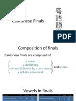 Cantonese Finals