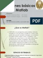 AaaFunciones Básicas en Matlab