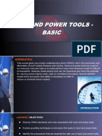 OSHA 10 Slides 10 - Hand and Power Tools