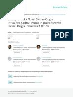 Emergence of a Novel Swine-Origin Influenza a H1N1