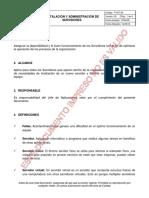 P-GTI-04 Instalación y Administración de Servidores v3