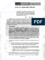 Resolución Nº 2153-2017-TCE-S1