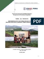 Reforestacion Con Fines Productivos y de Proteccion en El Distrito Tres Unidos- San Martín