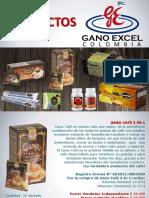 Productos Gano Excel Colombia 2017 Enero