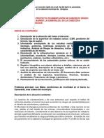 Lineas Para Modelo de Diagnostico de Pavimento