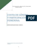 Brasil y Argentina - Cuota de Género y Participación Femenina
