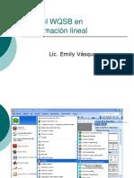 Uso Del WQSB en Programación Lineal