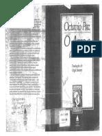 o Arco e a Lira -Octávio Paz
