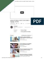 Amiga de Fabíola Conta Tudo Sobre a Traição..