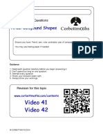 Area of Compound Shapes PDF