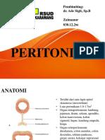 PPT - Referat - Peritonitis