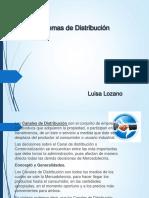 Luisa Lozano Evidencia 5 Caracterizacion Del Sistema de Distribucion