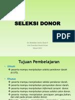 Seleksi Donor2